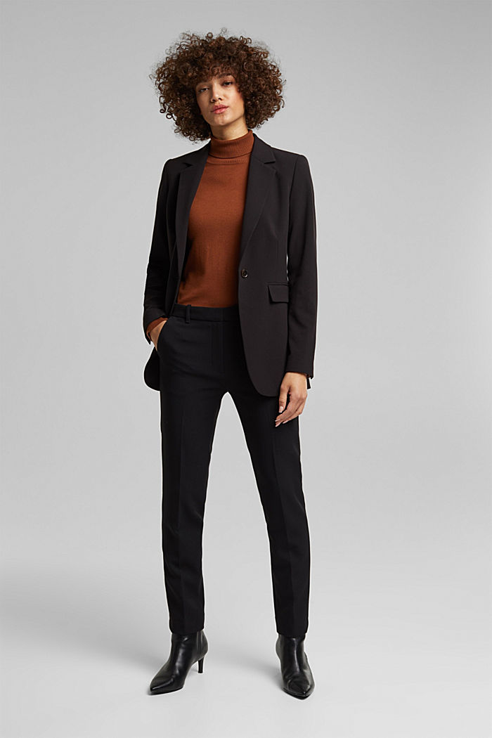 Fitted party blazer, BLACK, detail image number 1