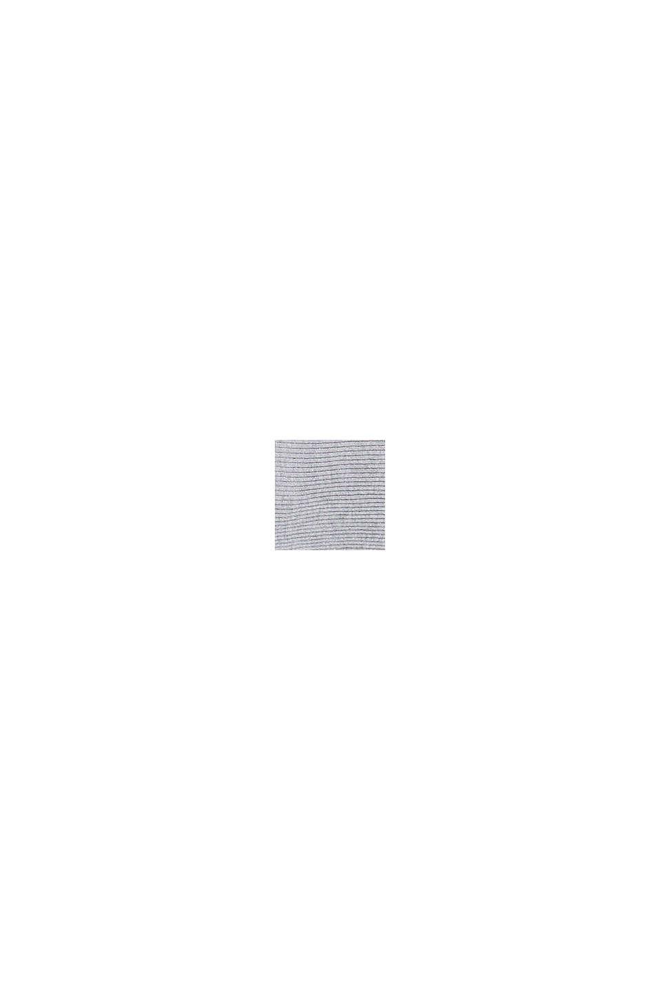 Recycelt: Strick-Pullover mit Glitzer, LIGHT GREY, swatch