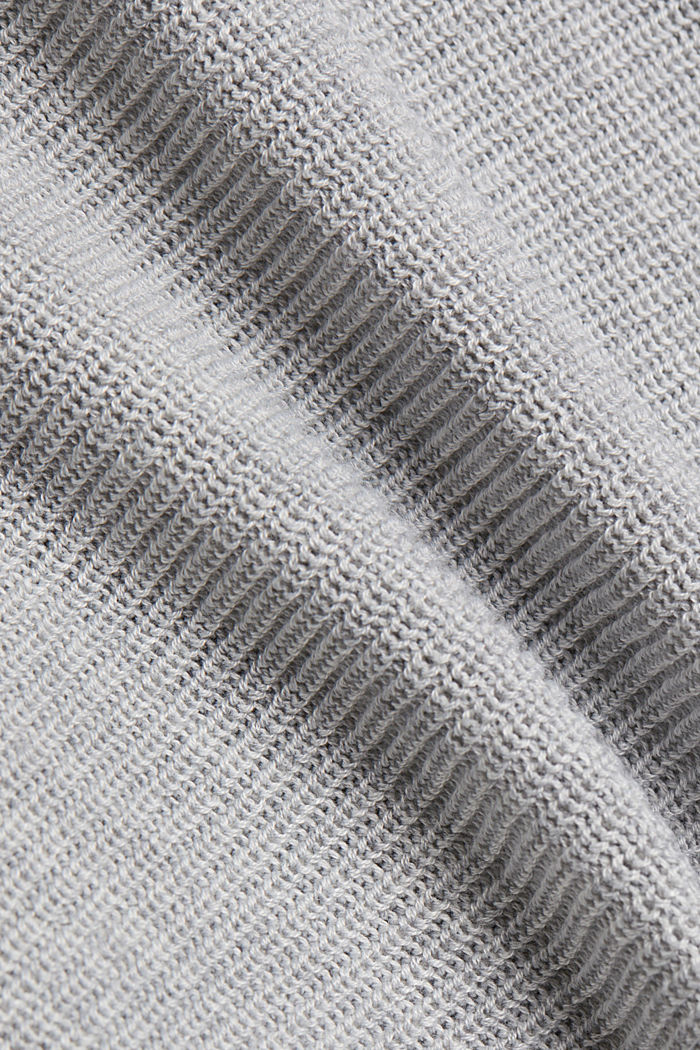 Jumper with batwing sleeves, LIGHT GREY, detail image number 4