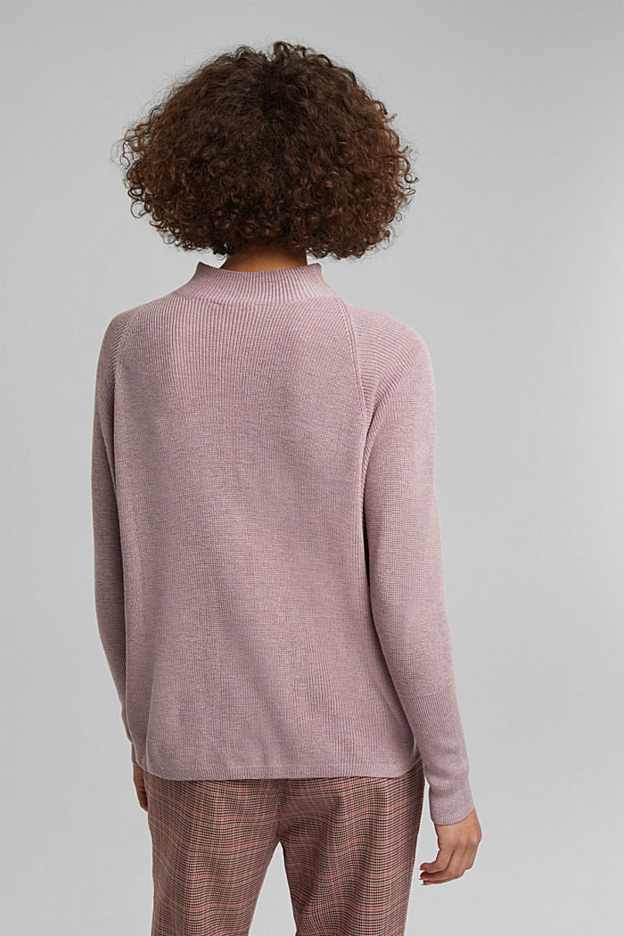Jumper with batwing sleeves, MAUVE, detail image number 3