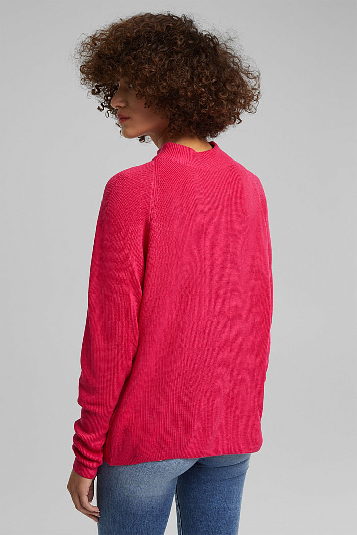 Jumper with batwing sleeves, PINK FUCHSIA, detail image number 3