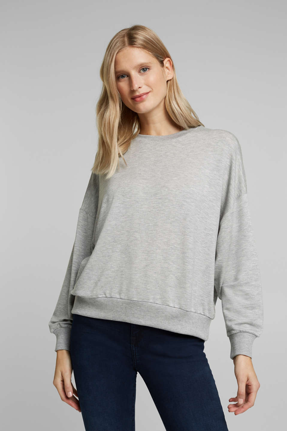 Esprit - TENCEL™-mix: zacht sweatshirt