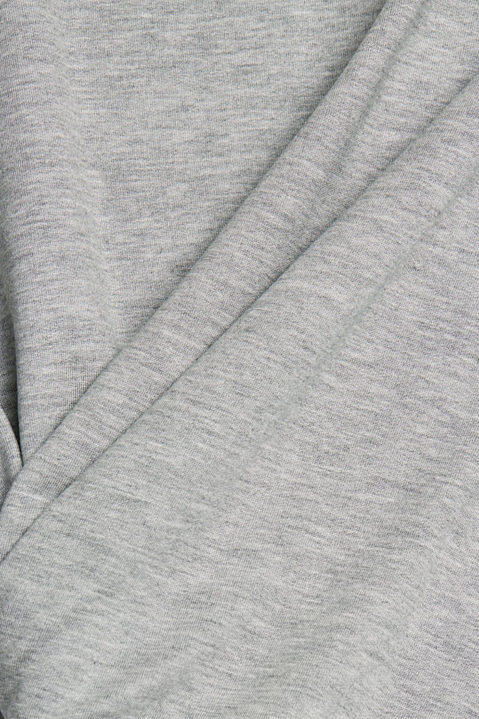 TENCEL™ blend: soft sweatshirt, GREY, detail image number 4