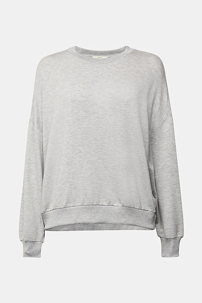 TENCEL™ blend: soft sweatshirt