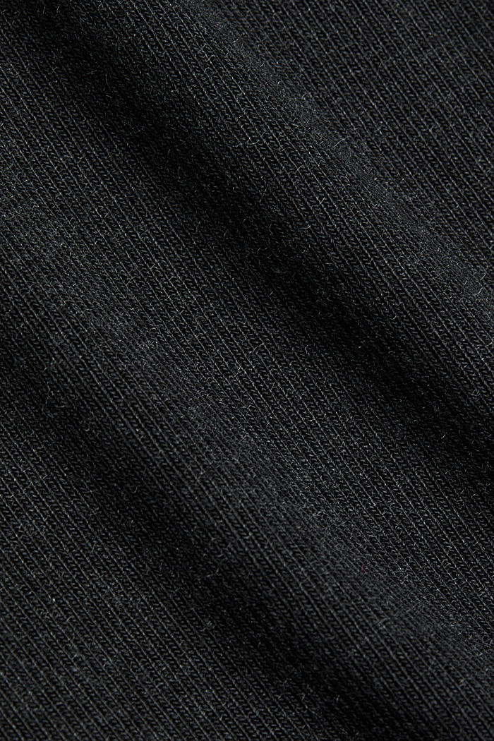Long sleeve top with LENZING™ ECOVERO™, GUNMETAL, detail image number 4