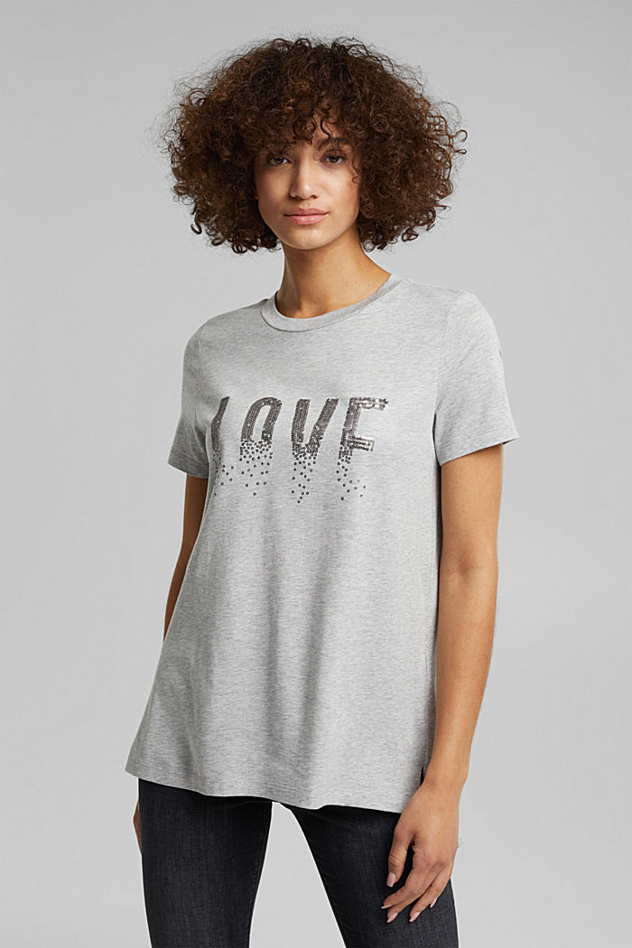 Statement top with organic cotton