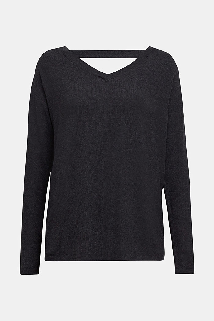 Jersey long sleeve top with LENZING™ ECOVERO™