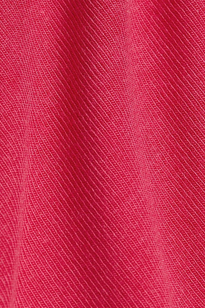 Jersey long sleeve top with LENZING™ ECOVERO™, PINK FUCHSIA, detail image number 4