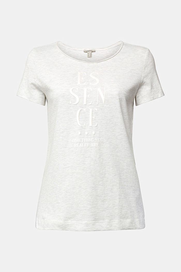 Jersey T-shirt made of organic cotton