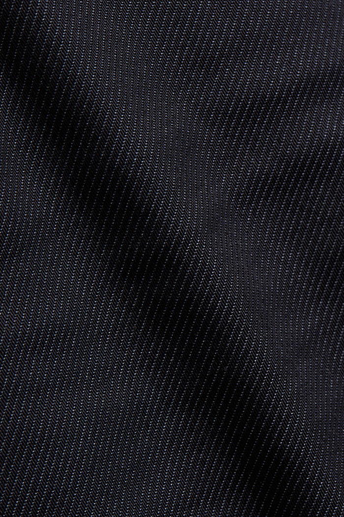 Coated Jeans mit Stretch, NAVY, detail image number 4