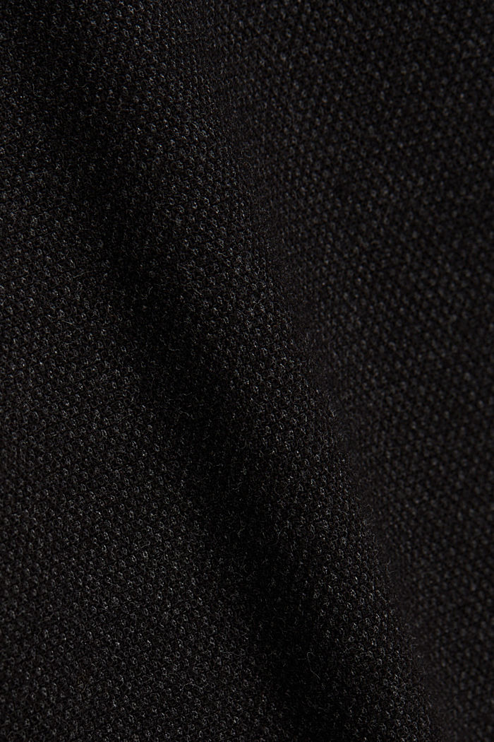 Stretch chinos with organic cotton, ANTHRACITE, detail image number 4