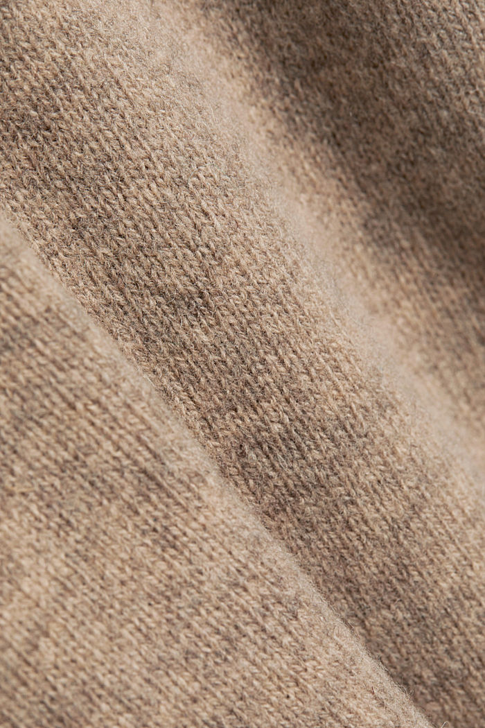 Responsible wool: Jumper made of RWS wool, LIGHT BEIGE, detail image number 4