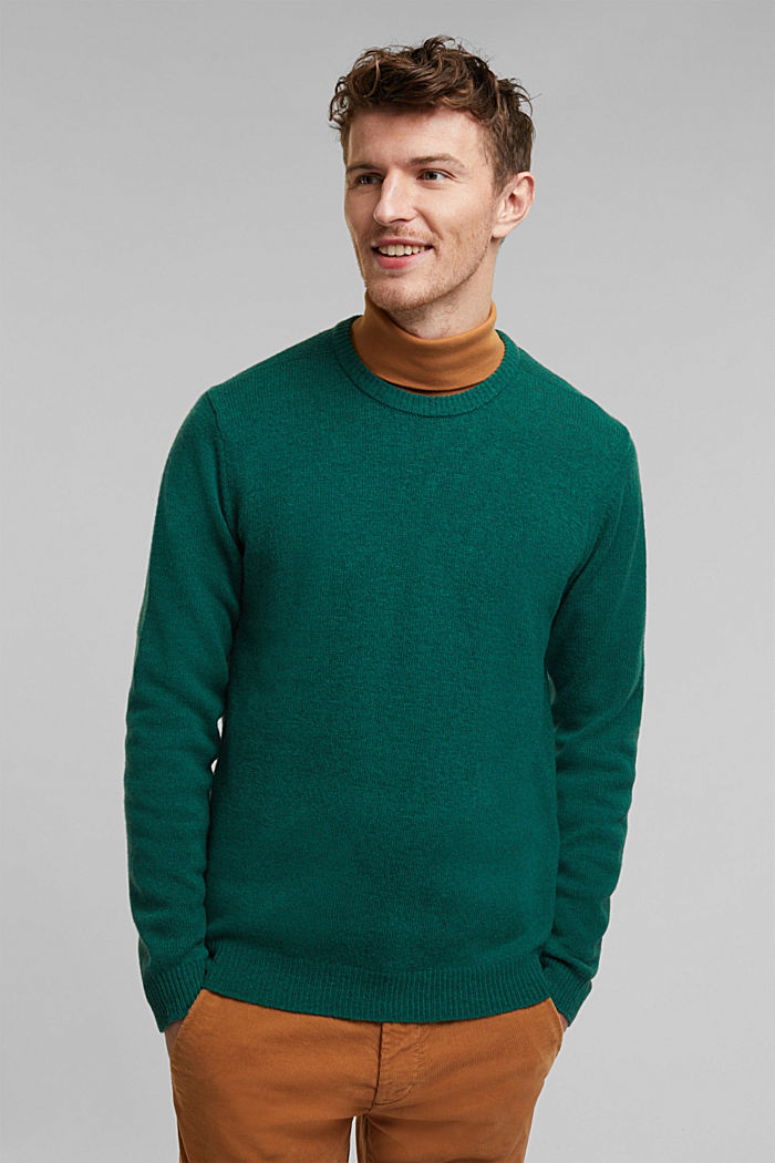 Responsible wool: Jumper made of RWS wool