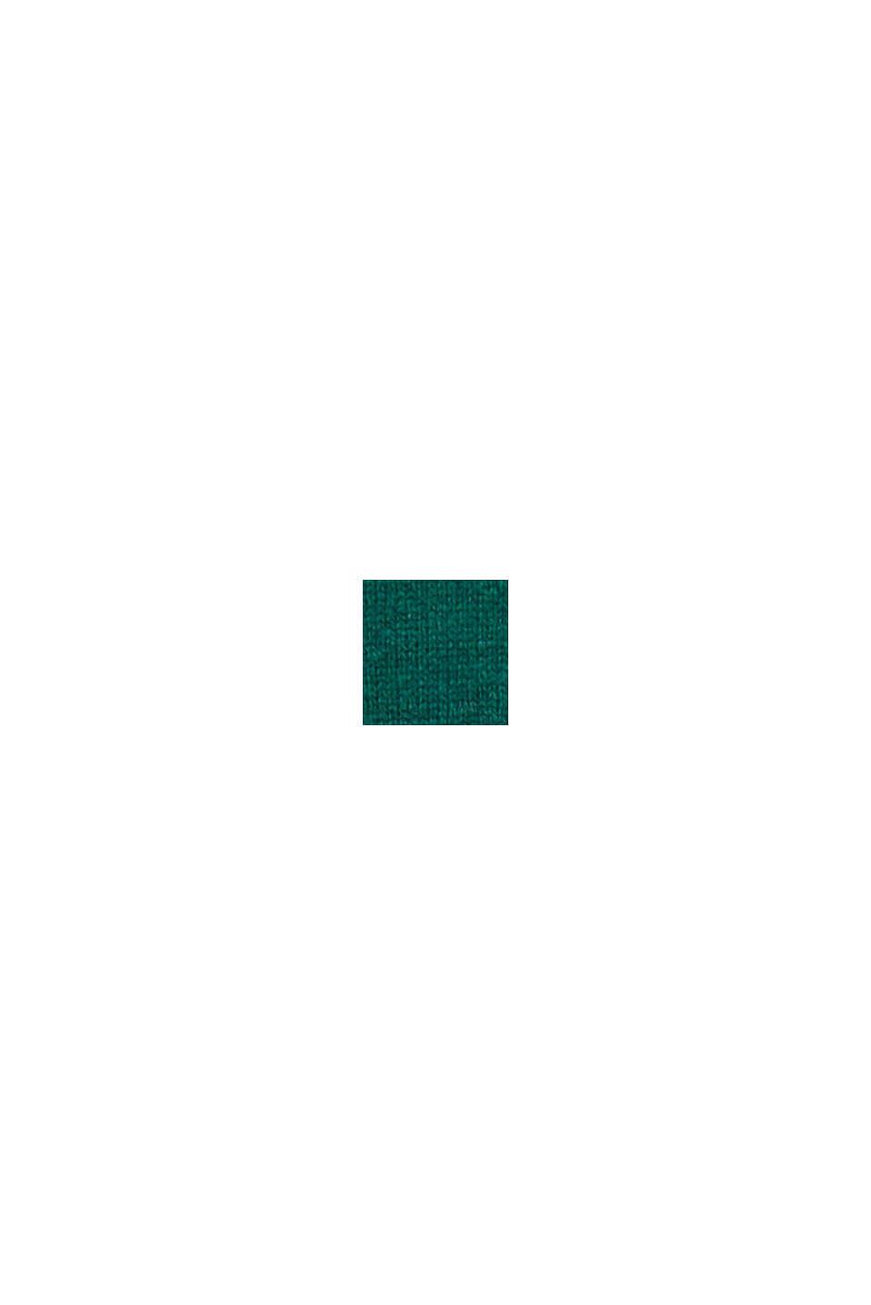 En laine éco-responsable: le pull-over en laine RWS, BOTTLE GREEN, swatch