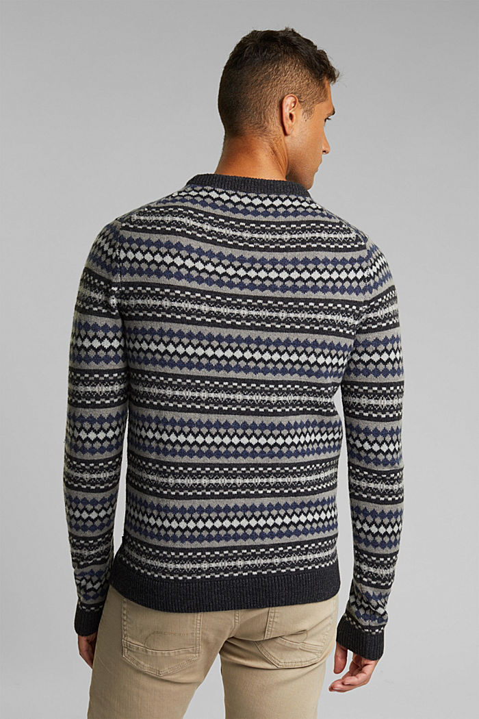 Fashion Sweater, ANTHRACITE, detail image number 3
