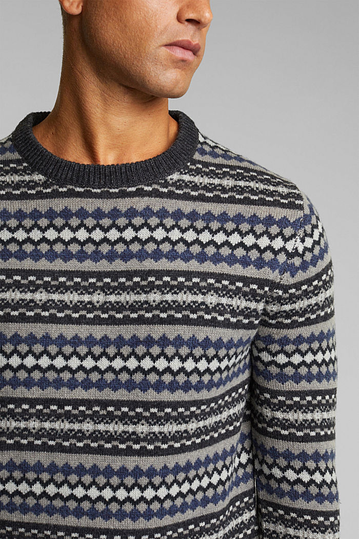 Fashion Sweater, ANTHRACITE, detail image number 2