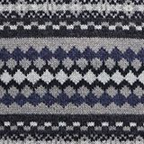 Wool blend: jacquard knit jumper, ANTHRACITE, swatch