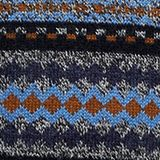 Wool blend: jacquard knit jumper, NAVY, swatch