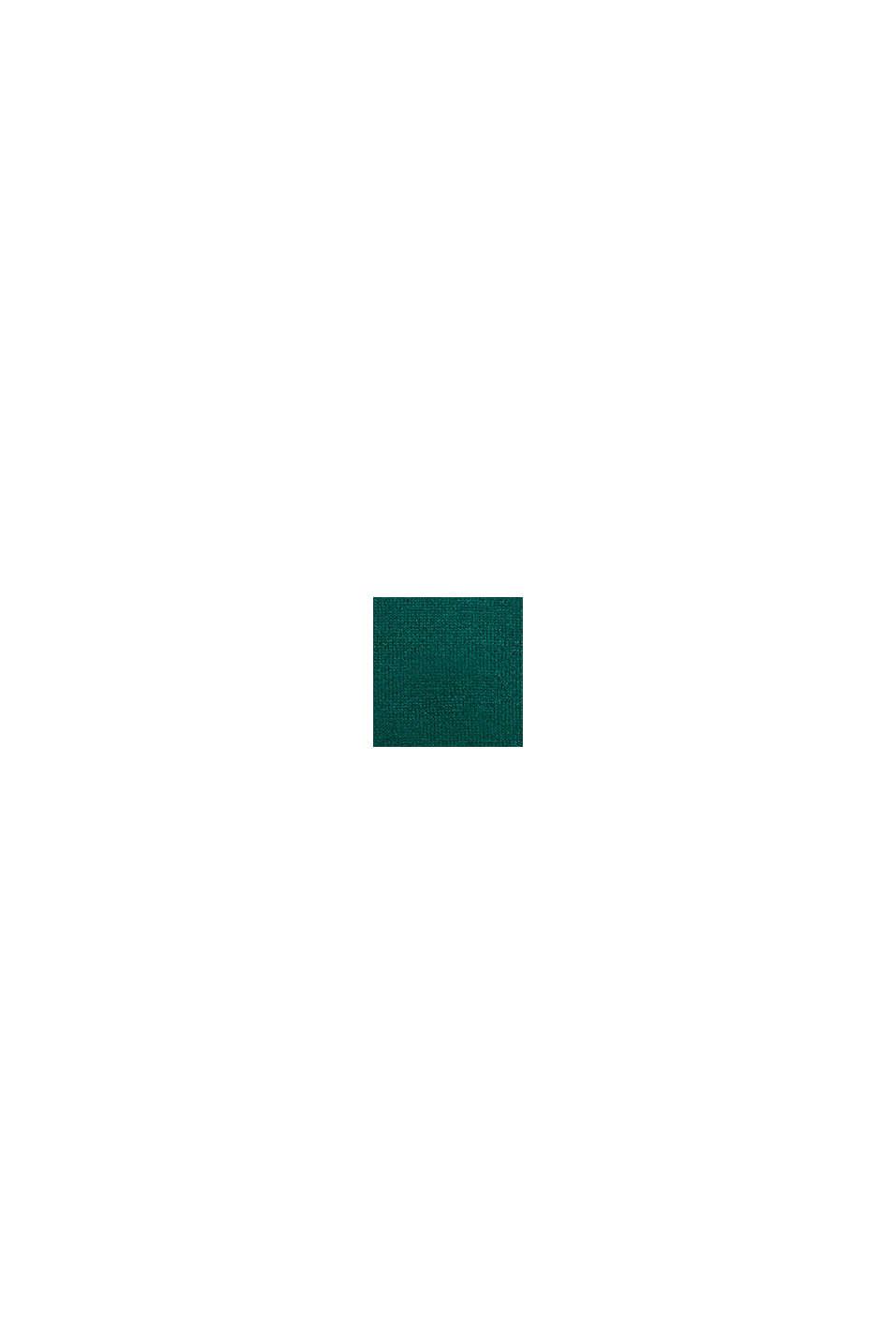 Wol: gebreide trui met jacquardpatroon, BOTTLE GREEN, swatch