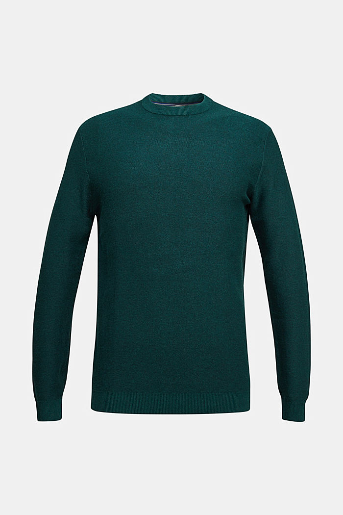 Sweaters, BOTTLE GREEN, detail image number 5