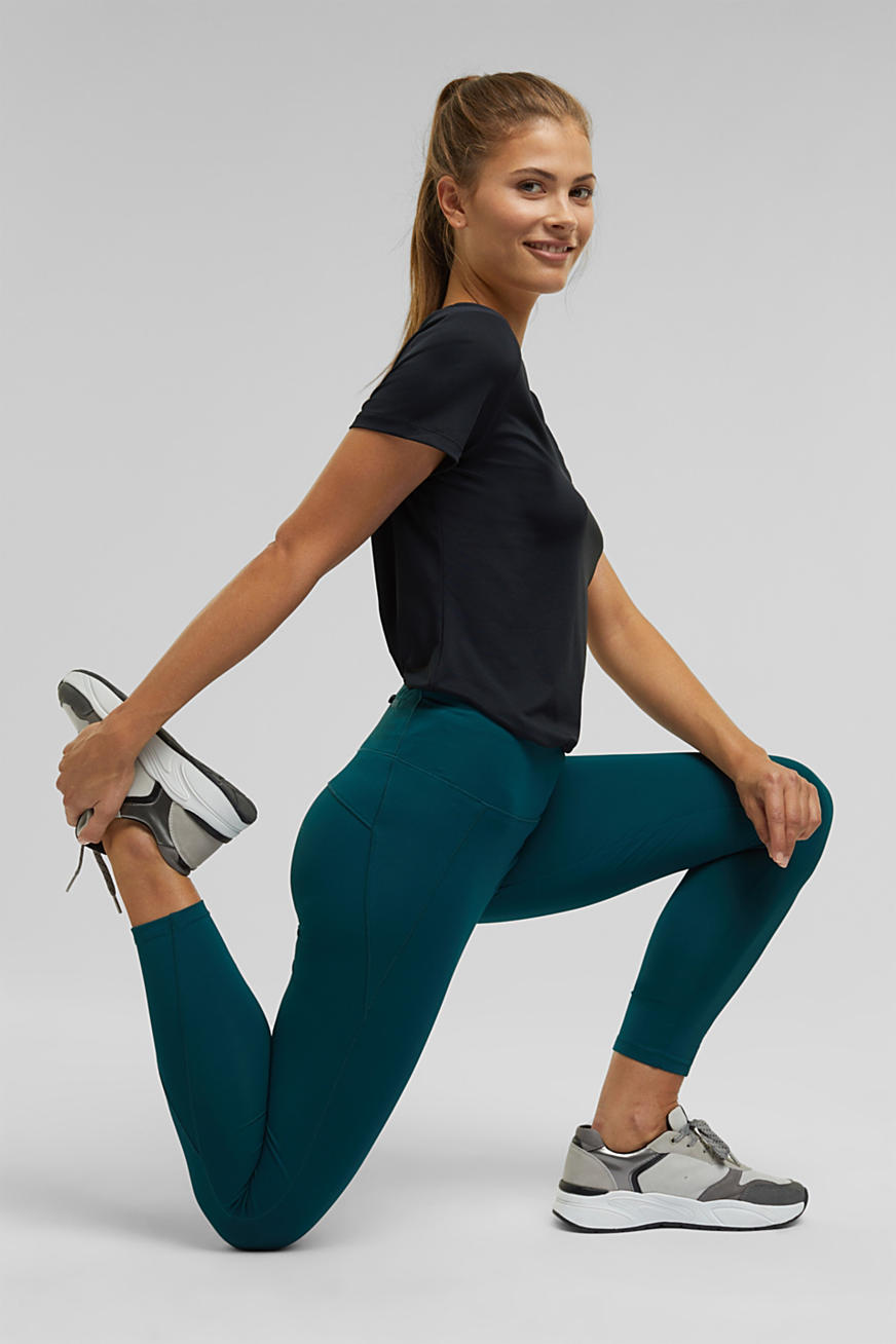 Active legging met E-DRY