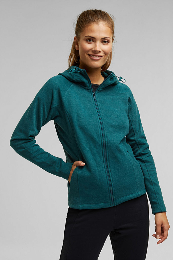 Hoodie with organic cotton