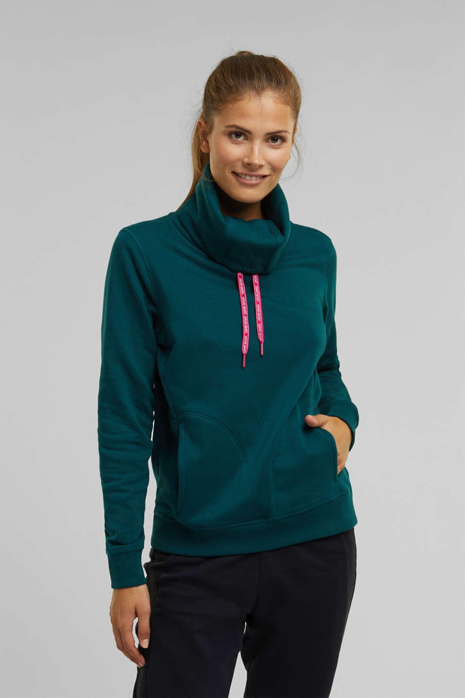 Esprit - Sweater mit Organic Cotton