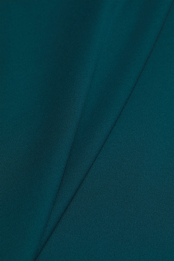 Active top with E-DRY, DARK TEAL GREEN, detail image number 4