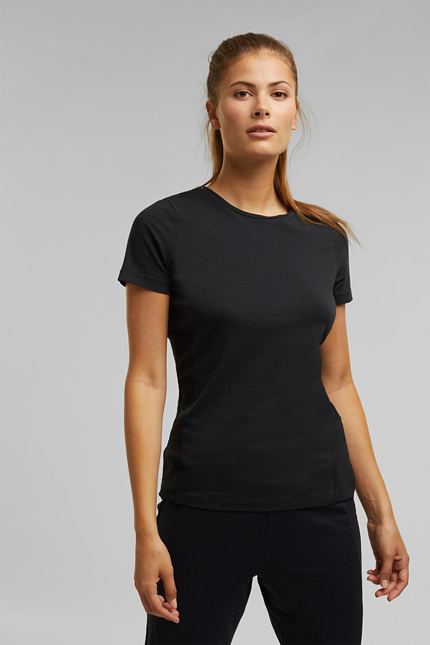 Jersey-Shirt mit Organic Cotton
