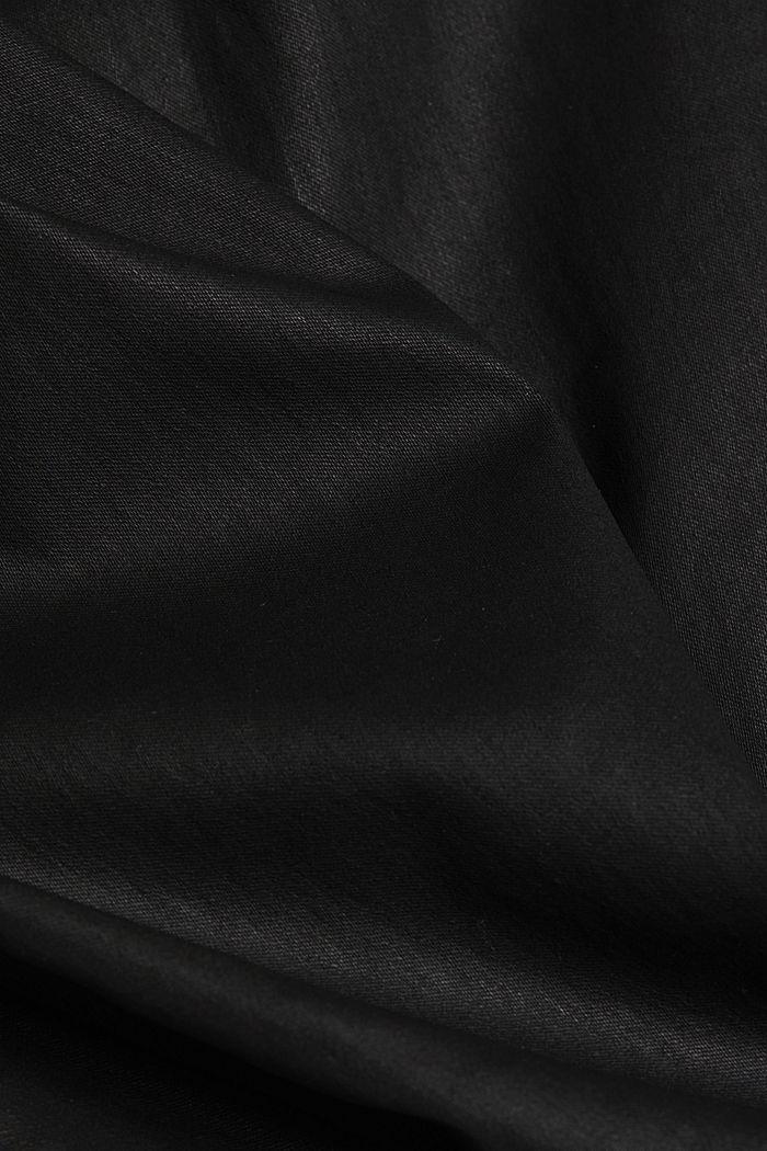 Vaqueros elásticos con revestimiento, BLACK RINSE, detail image number 4