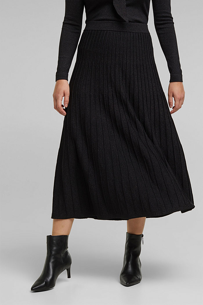 Knitted skirt featuring LENZING™ ECOVERO™