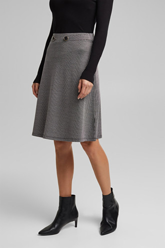 Recycled: Skirt with LENZING™ ECOVERO™