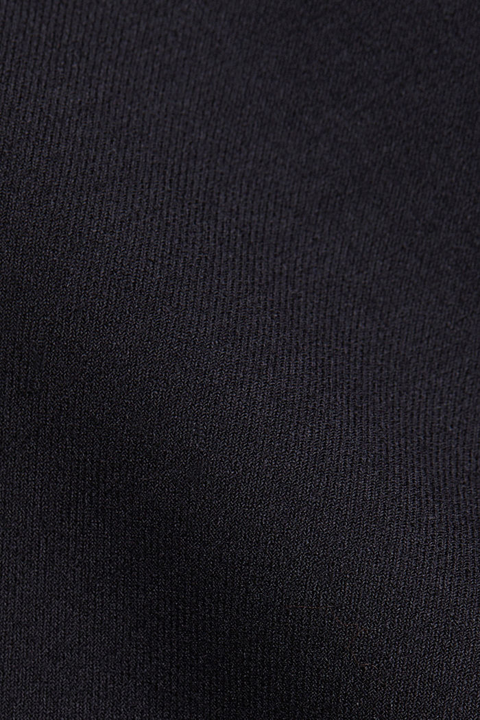 Wool blend: pencil skirt with buttons, BLACK, detail image number 4