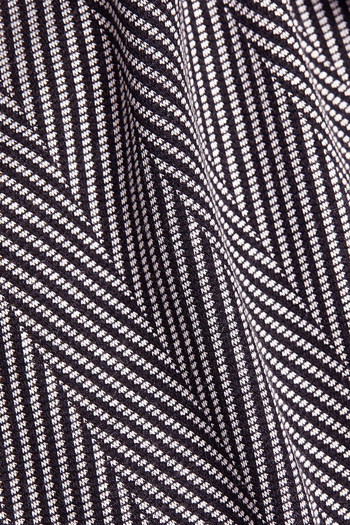 Recycled: Dress with LENZING™ ECOVERO™, BLACK, detail image number 4