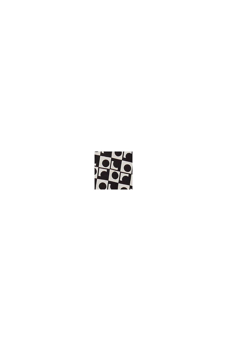 Blusa de crepé en LENZING™ ECOVERO™, OFF WHITE, swatch