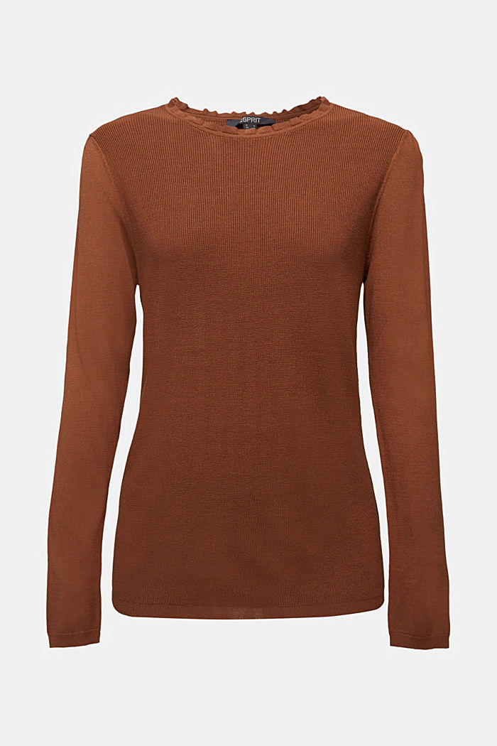 Femininer Pullover, LENZING™ ECOVERO™