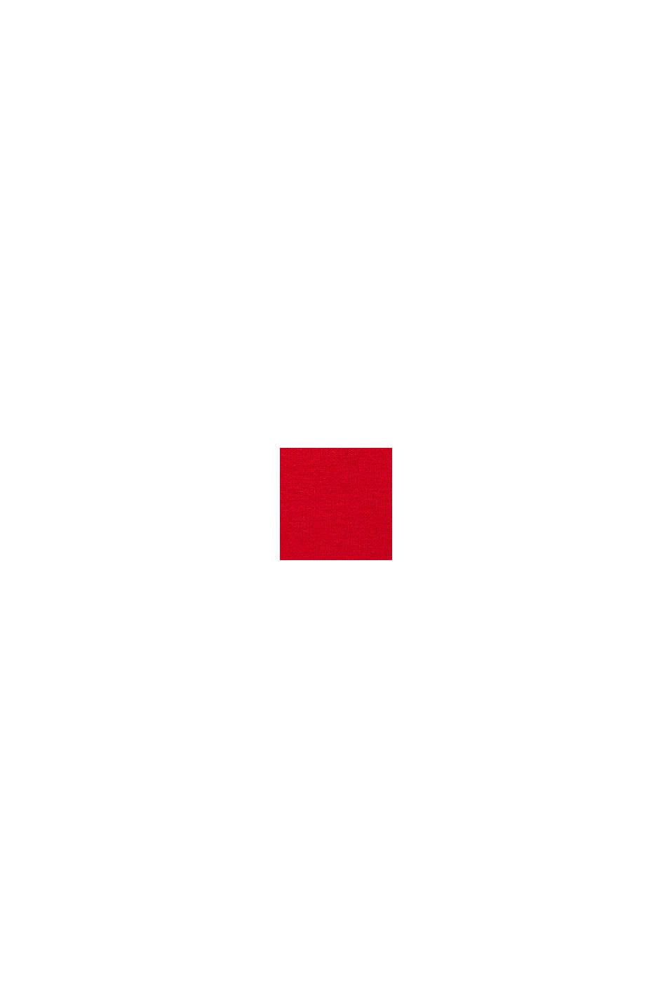 Femininer Pullover, LENZING™ ECOVERO™, RED, swatch