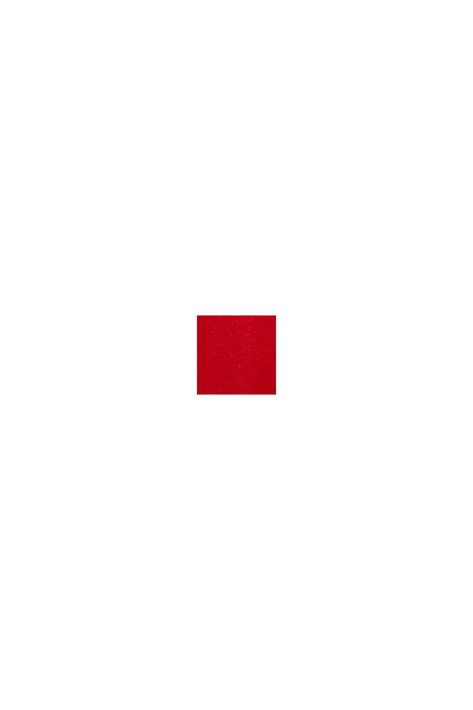 Jumper in an alpaca/wool blend, RED, swatch