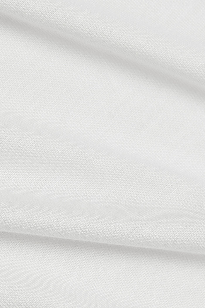 Long sleeve top made of LENZING™ ECOVERO™, OFF WHITE, detail image number 4