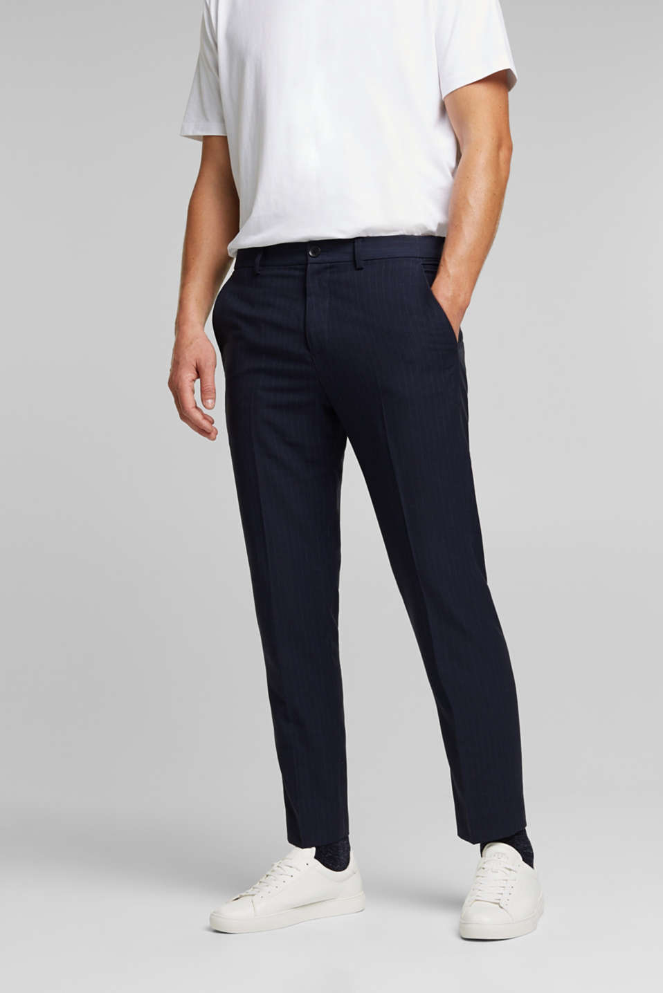 Esprit - PINSTRIPE mix + match: broek
