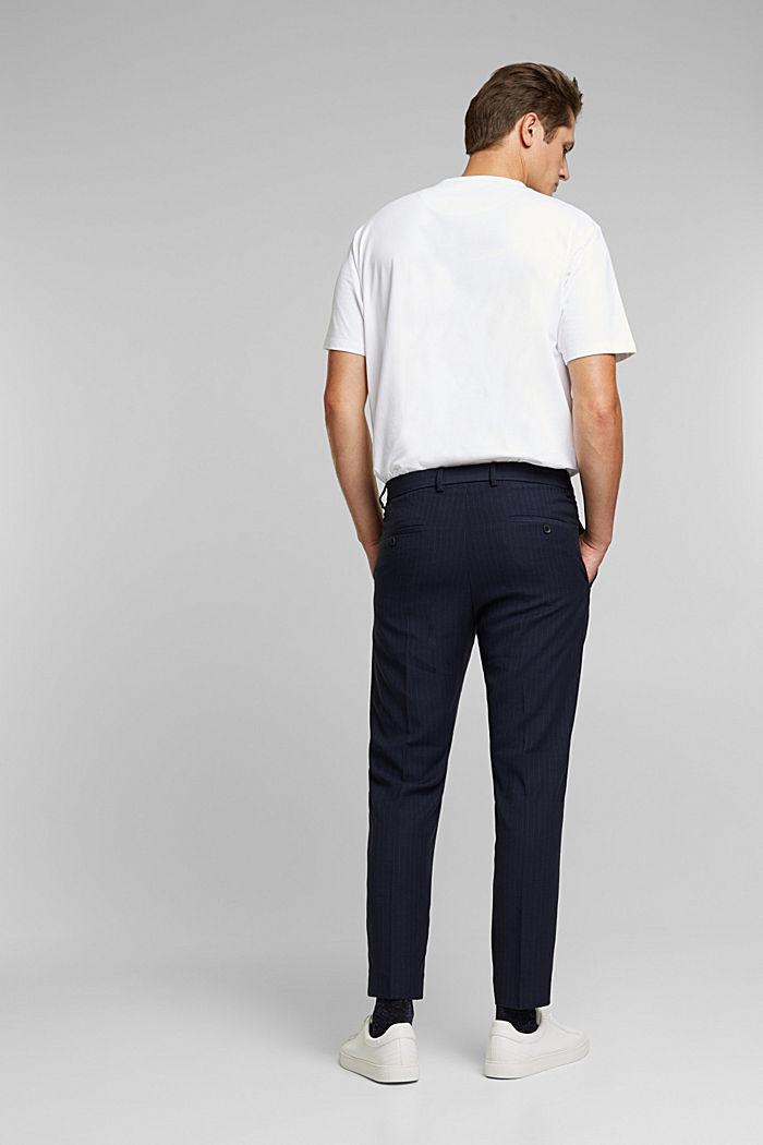 PINSTRIPE Mix + Match: Hose, DARK BLUE, detail image number 1
