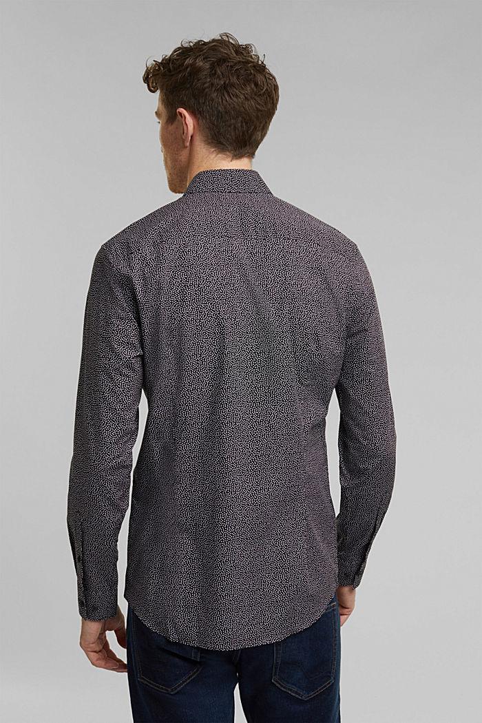 Print shirt made of 100% organic, BLACK, detail image number 3