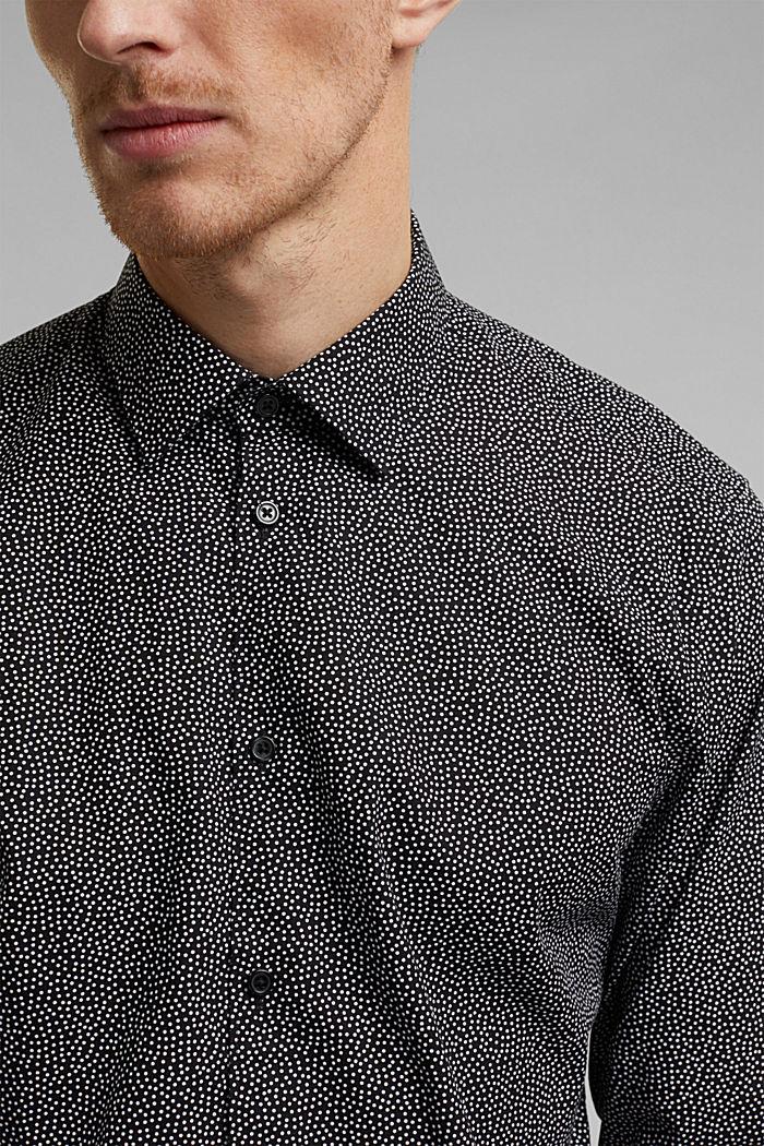 Print shirt made of 100% organic, BLACK, detail image number 2