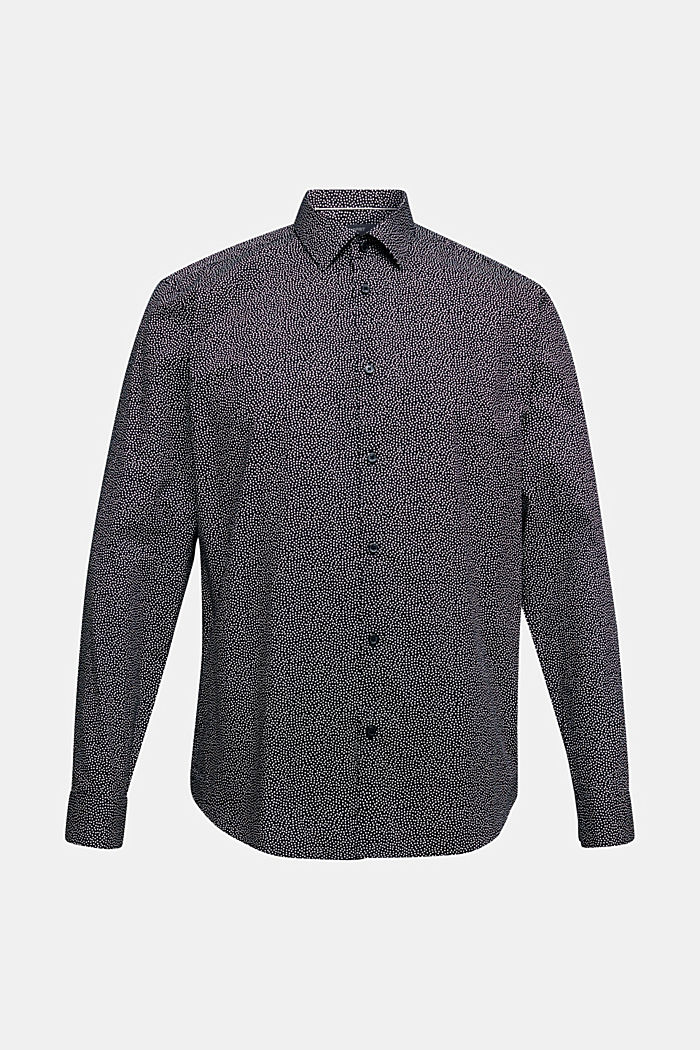 Print shirt made of 100% organic, BLACK, overview