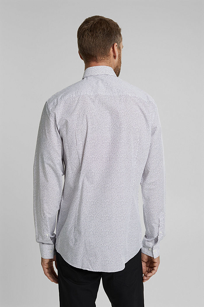 Print shirt made of 100% organic, WHITE, detail image number 3
