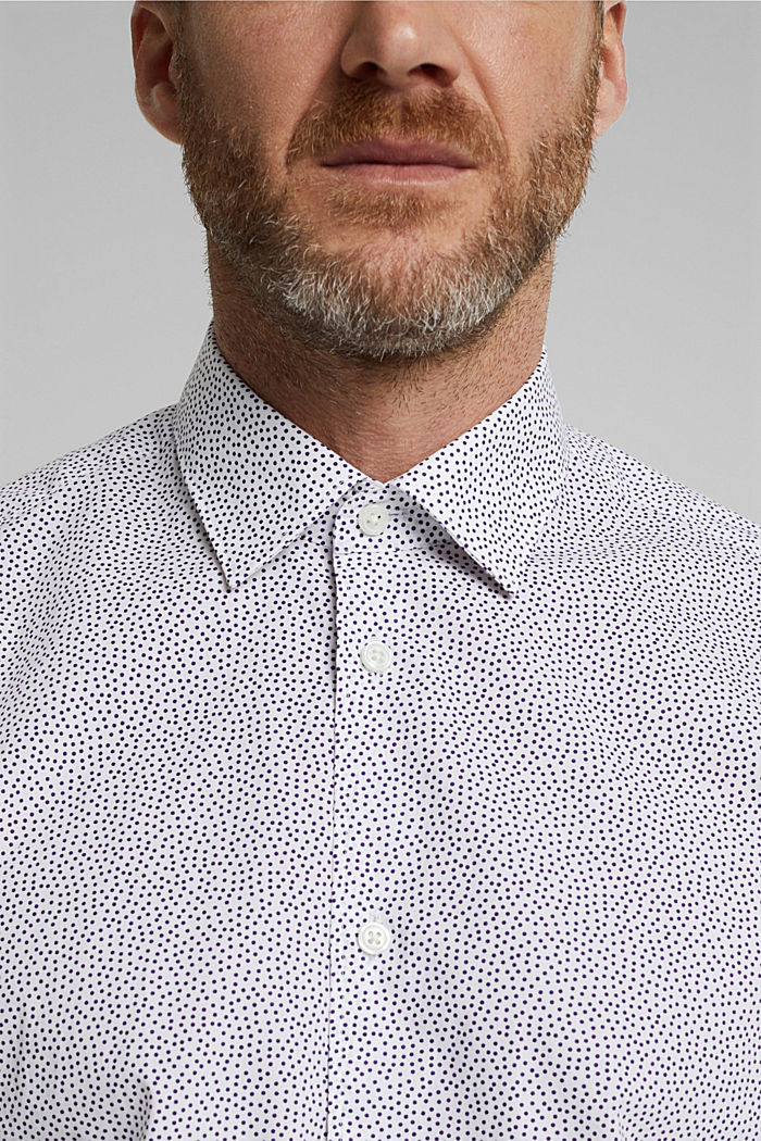 Print shirt made of 100% organic, WHITE, detail image number 2