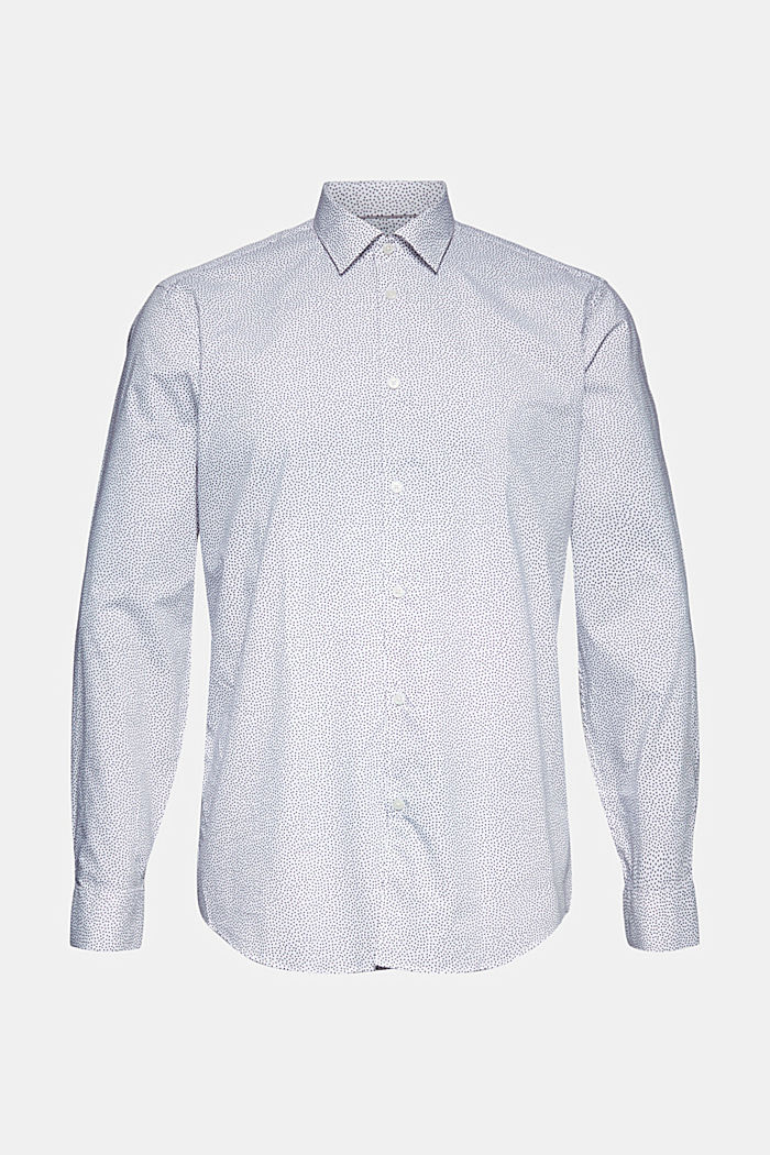 Print shirt made of 100% organic, WHITE, detail image number 6