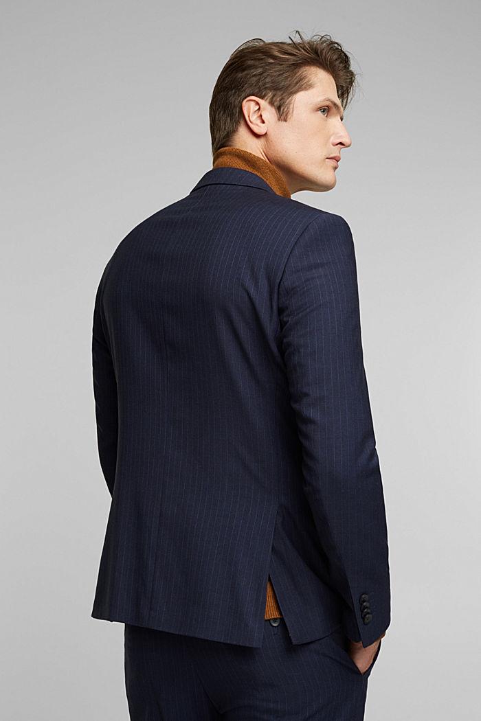 PINSTRIPE Mix + Match: sports jacket, DARK BLUE, detail image number 3