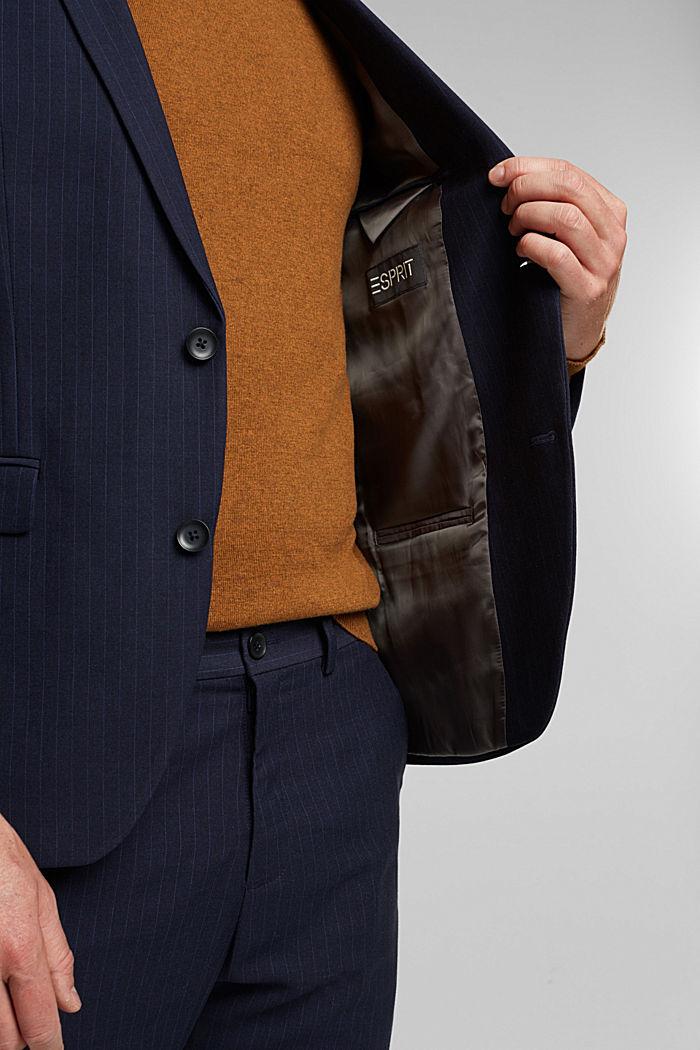 PINSTRIPE Mix + Match: sports jacket, DARK BLUE, detail image number 2