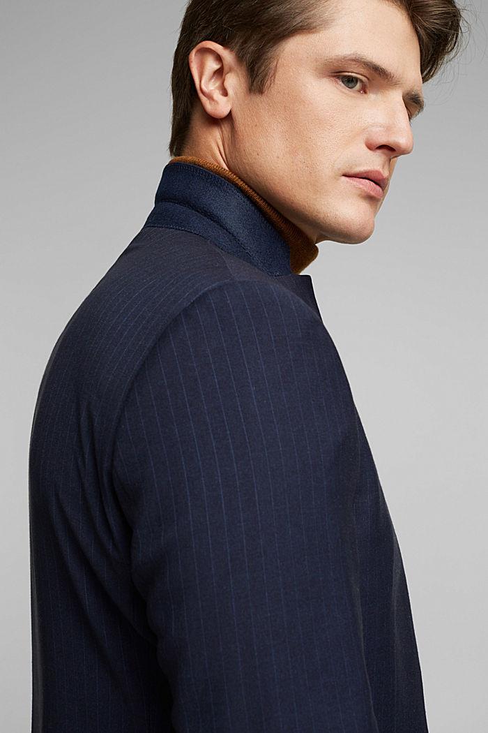 PINSTRIPE Mix + Match: sports jacket, DARK BLUE, detail image number 6